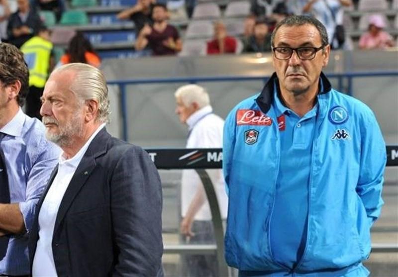رئیس باشگاه ناپولی: شکست دادن یوونتوس مائوریتزیو ساری لذت بیشتری خواهد داشت