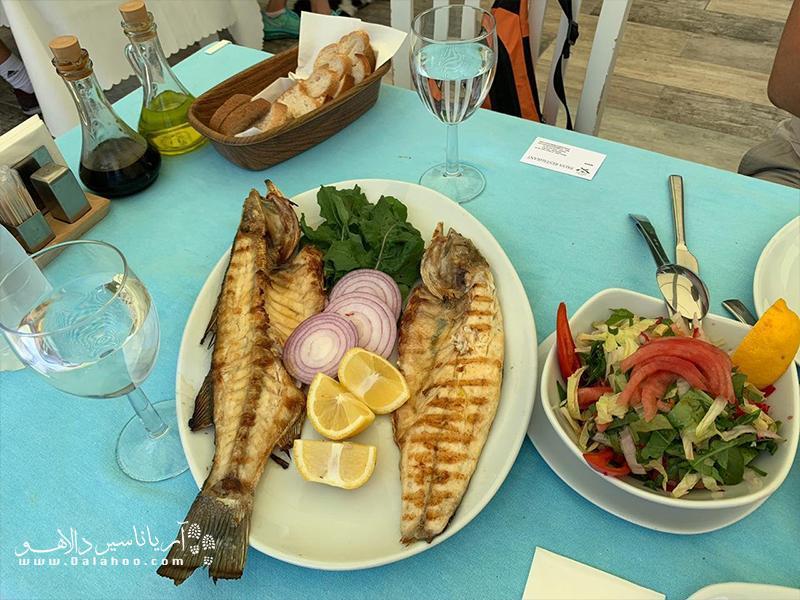 بهترین غذاهای جزیره بیوک آدا که نباید از دست داد