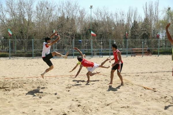 هندبال ساحلی ایران رقبای آسیایی خود را شناخت