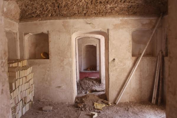 اتمام یک فصل دیگر از مرمت خانه یزدانی در سرایان