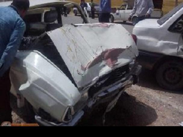 9 نفر در تصادف کبودرآهنگ مجروح شدند