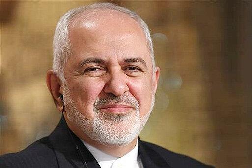 دیدار ظریف با رئیس جمهور فرانسه در اول شهریور ماه