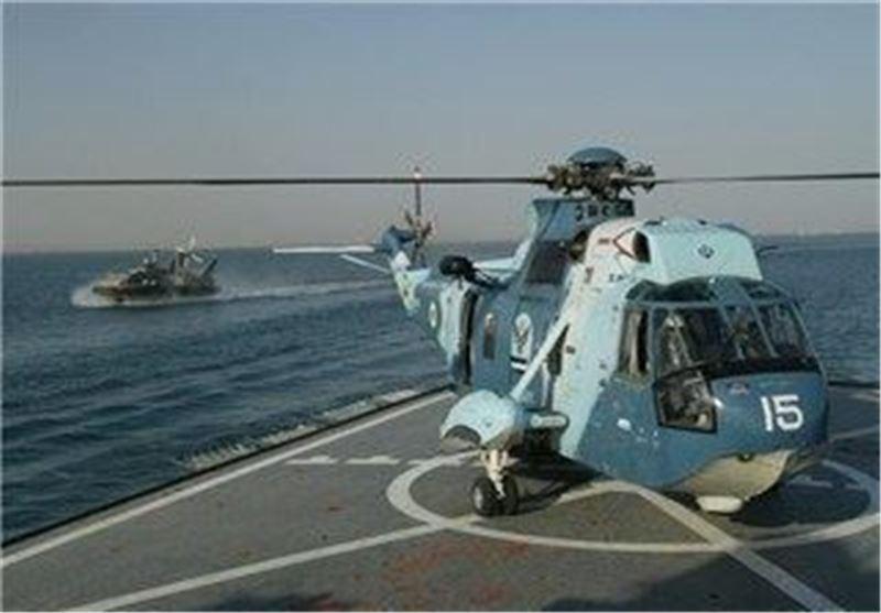 زمان عملیات جست وجو و نجات نیروی دریایی ارتش به کمتر از 45 دقیقه رسید