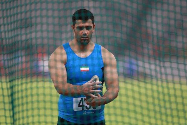 طلای نماینده پرتاب دیسک ایران در مسابقات هند