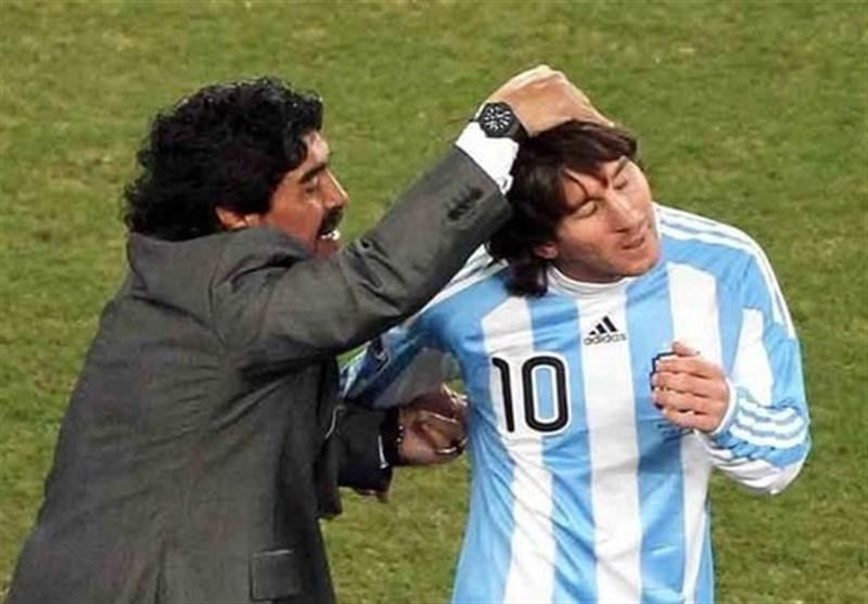 مارادونا: مسیِ آرژانتین من در بهترین مقطع از دوران بازیگری اش بود