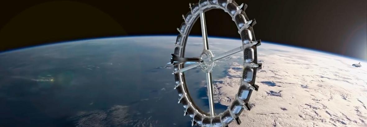 طرح جدید ترین هتلِ در فضا منتشر شد ، کشتی کروزی در میان ستاره ها