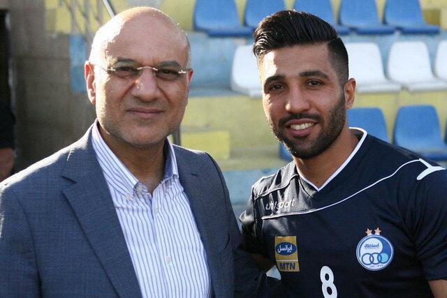 فتحی: امیدوارم فردا روز خوب فوتبال استقلال باشد، پیگر برطرف محرومیت اسماعیلی هستیم