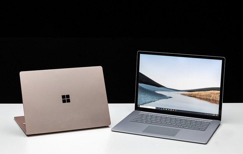 مایکروسافت از سرفیس لپ تاپ 3 رونمایی کرد