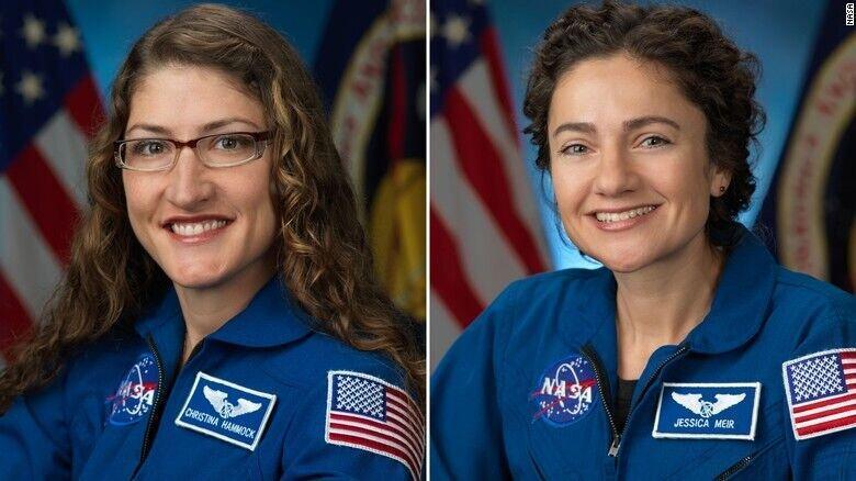 15 روز دیگر اولین راهپیمایی فضایی زنان فضانورد
