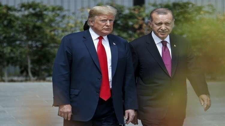 آنکارا: اردوغان و ترامپ درباره عملیات چشمه صلح توافق کردند