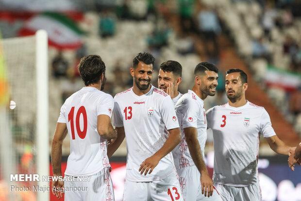 تیم ملی فوتبال ایران مقابل بحرین سفید می پوشد