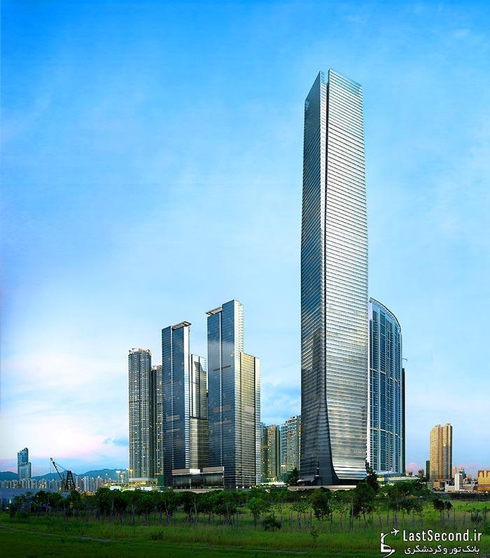 ساخت بلندترین هتل دنیا در هنگ کنگ