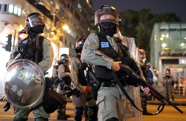 شروع اعتراضات یک هفته ای هنگ کنگی ها در وقت ناهار