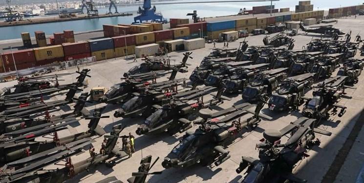افزایش تحرکات نظامی آمریکا در یونان