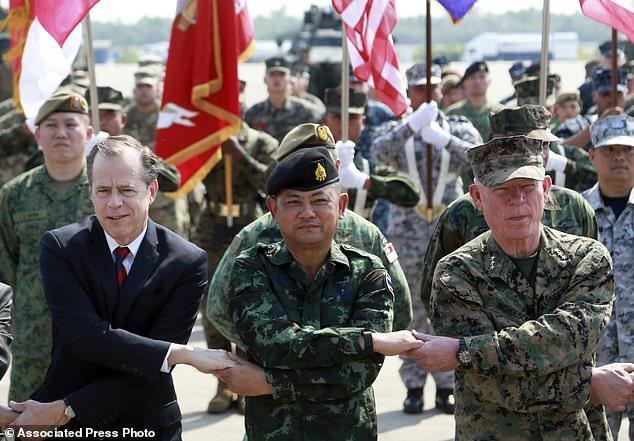 بی توجهی به میانمار در افتتاحیه مانور بزرگ تایلند- آمریکا