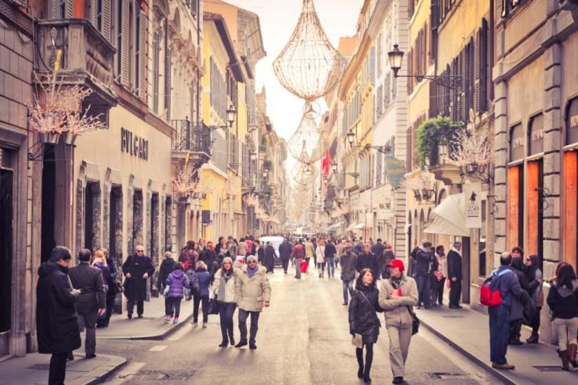 مراکز خرید رم، ایتالیا (قسمت دوم)