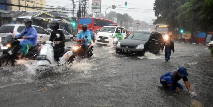 سیل در پایتخت اندونزی دستکم چهار قربانی گرفت