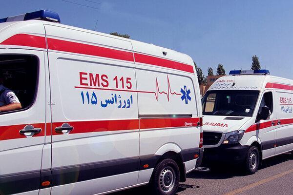 3 کشته و 24 زخمی در تصادف زنجیره ای ، اعزام 9 آمبولانس به آزادراه زنجان-قزوین