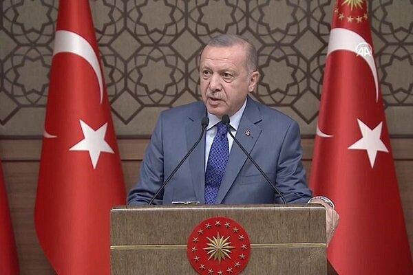 اردوغان سازمان ناتو را به عدم عمل به شعارهایش متهم کرد