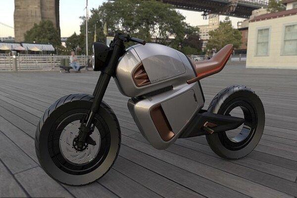 موتورسیکلت برقی با 99 اسب بخار و ابر خازن رونمایی می شود
