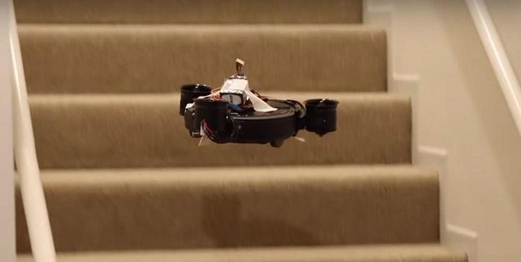 فراوری ربات جاروبرقی که پرواز می نماید