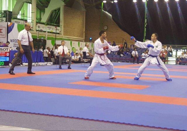کسب نتیجه مطلوب در رقابت های جهانی کاراته مستلزم بهترین کوشش است