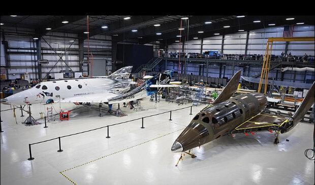 دومین هواپیمای فضایی ویرجین گالاکتیک آماده شد