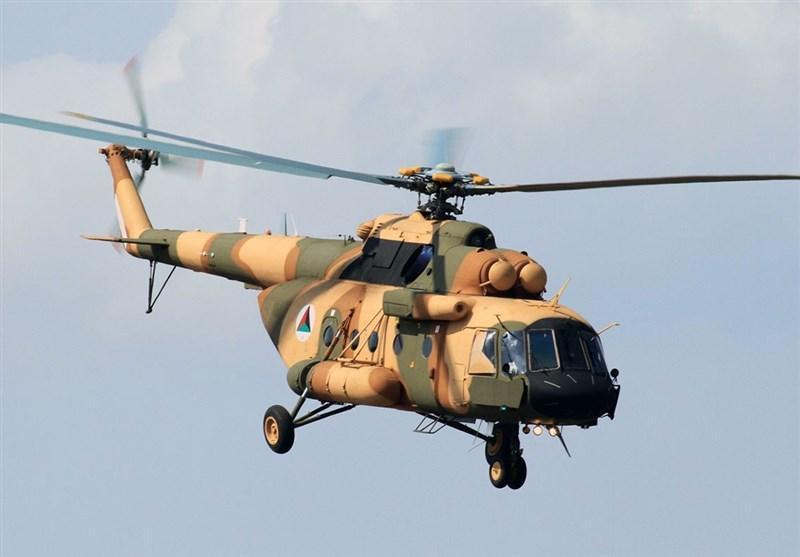 سقوط بالگرد ارتش افغانستان در حمله راکتی طالبان