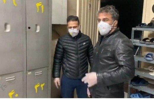 اقدام خیرخواهانه قهرمانان کشتی در 3 گرمخانه تهران برای مقابله با کرونا
