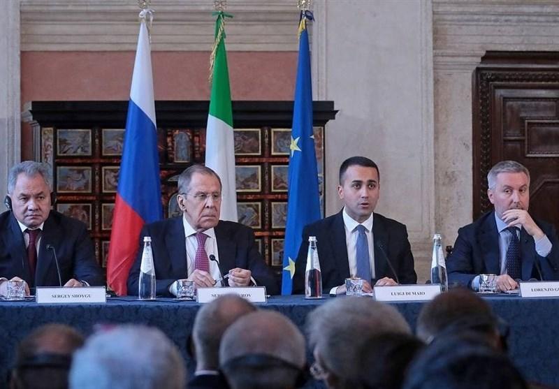 کوشش روسیه و ایتالیا برای جبران زمان از دست رفته در روابط دوجانبه