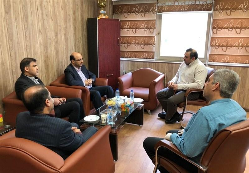 دیدار معاونت قهرمانی وزارت ورزش و جوانان با رئیس فدراسیون کاراته