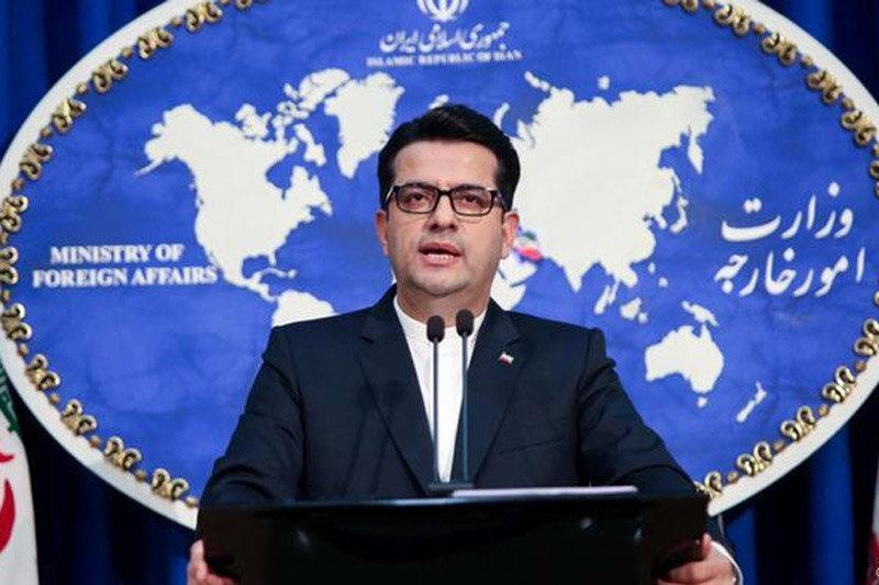 توقف کامیون های ایرانی در مرز سه کشور و شرح سخنگوی وزارت خارجه