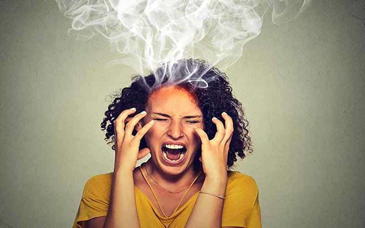 عصبانیت های بی دلیل ما از کجا نشأت می گیرد؟