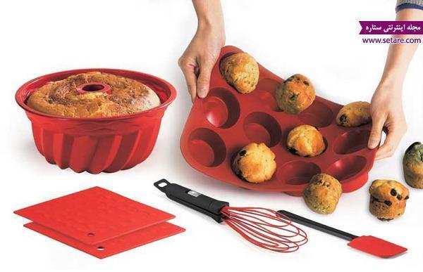 قالب های کیک و شیرینی پزی را بیشتر بشناسید