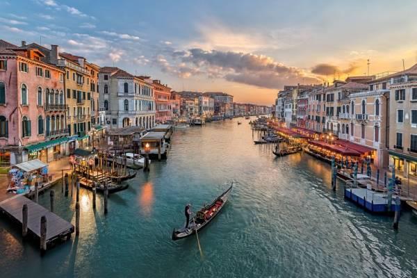 جاذبه های گرشگری شهر زیبای ونیز در ایتالیا