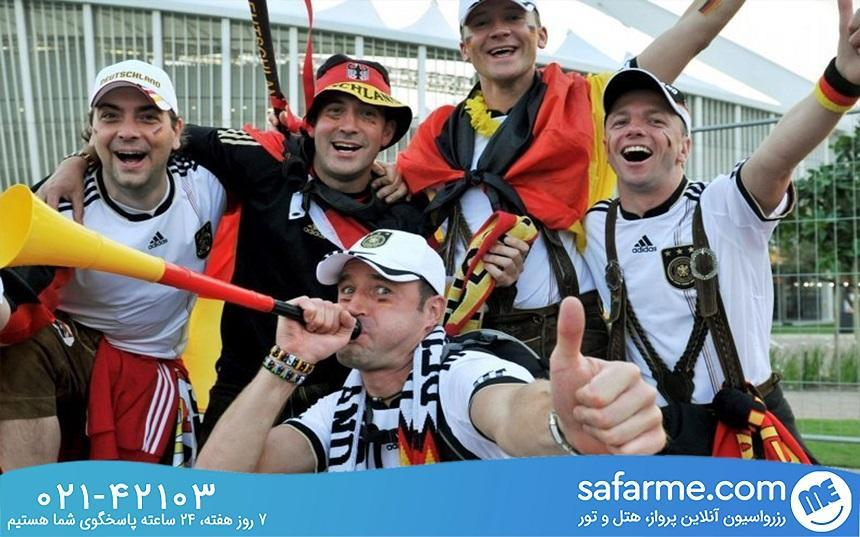از فرهنگ مردم آلمان تعجب نکنید!