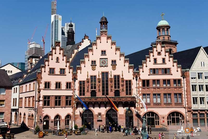 عمارت رومر، جواهری در شهر فرانکفورت، عکس