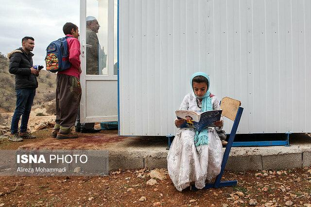 برگزاری امتحانات مدارس عشایری خوزستان همراه با رعایت پروتکل های بهداشتی
