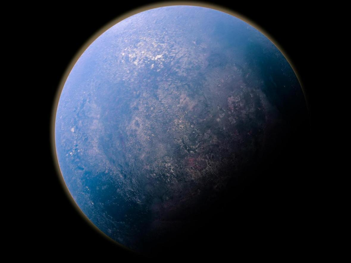 کشف سیاره ای با هسته شفاف و قابل رویت