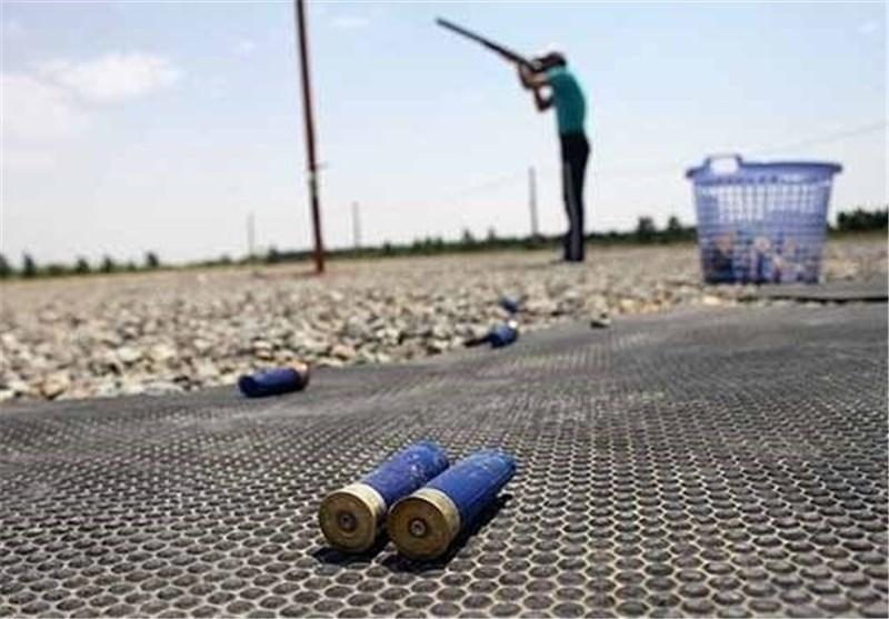 قهرمانی علی دوستی در مرحله نخست مسابقات آزاد تیراندازی اهداف پروازی