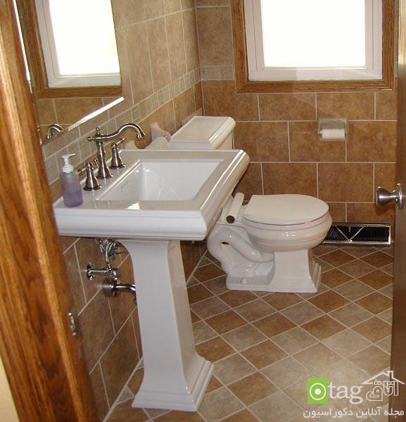مدل جدید کاشی و سرامیک سرویس بهداشتی و حمام در طرح و رنگ های متنوع