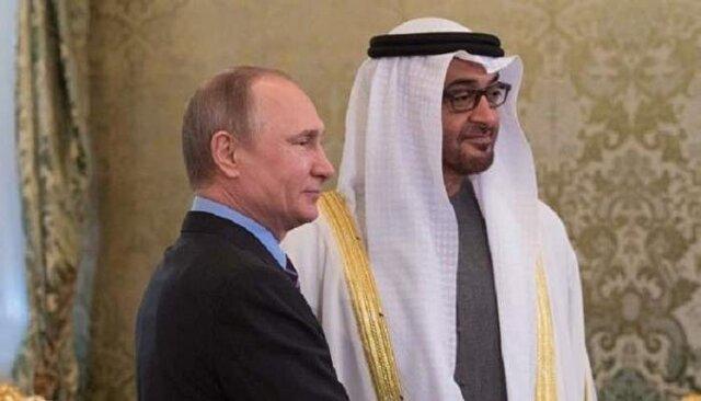 گفت وگوی تلفنی پوتین و محمد بن زاید