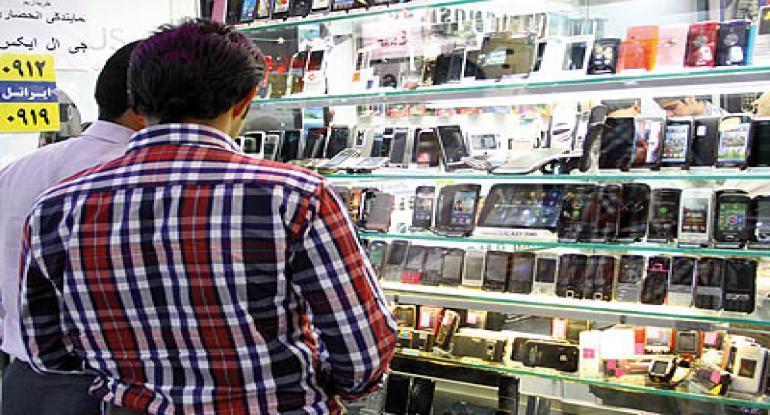 گوشی های 3 تا 5 میلیون تومانی در بازار