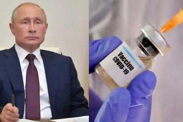 پوتین از همکاری هند و چین برای فراوری واکسن کرونای روسیه اطلاع داد