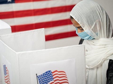 69درصد مسلمانان آمریکا به بایدن رای داده اند