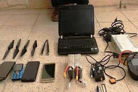 کشف یک دستگاه پهباد غیرمجاز توسط هنگ مرزی سرخس