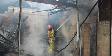 بی احتیاطی در پخت نان، شش خودرو را به آتش کشید