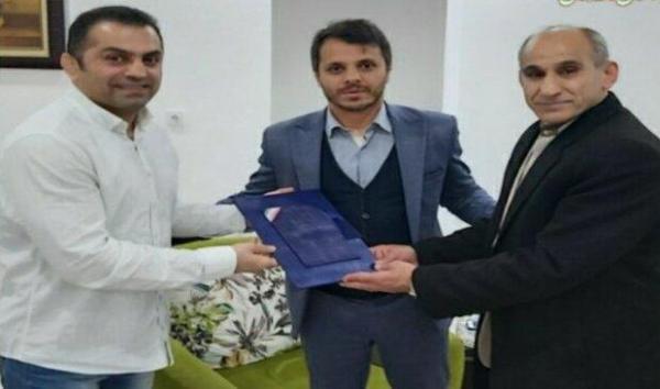 تجلیل مسئولان ورزشی مازندران از مربی تیم ملی کشتی