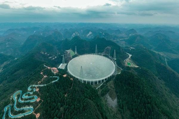 چین بزرگترین رادیوتلسکوپ دنیا را در اختیار دانشمندان قرار داد