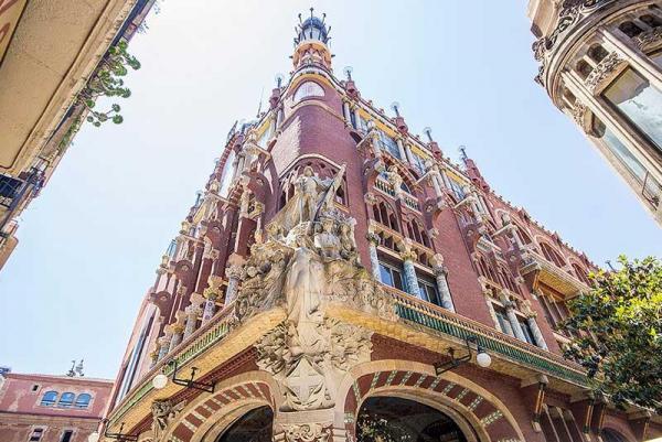 قصر موسیقی کاتالان؛ از زیباترین سالن های موسیقی در دنیا، عکس